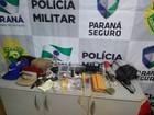 PM prende grupo suspeito de roubar ao menos 8 pessoas em Cascavel