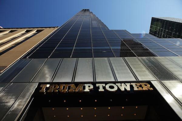 A Trump Tower de Donald Trump em Nova York (Foto: Getty Images)