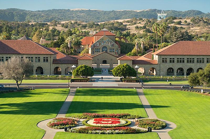 Universidade de Stanford, nos Estados Unidos (Foto: Divulgação/ Universidade de Stanford)