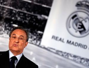 Florentino Pérez real madrid coletiva (Foto: Agência Reuters)