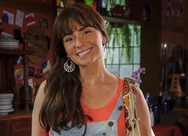 Giovanna Antonelli, que interpreta a personagem Clara, lidera a lista de cabelos mais pedidos no mês de março (Foto: Divulgação/TV Globo)
