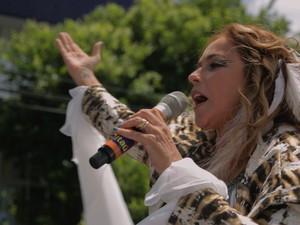 Daniela Mercury em cena do documentário (Foto: Rodrigo Maia/Macaco Gordo/Divulgação)