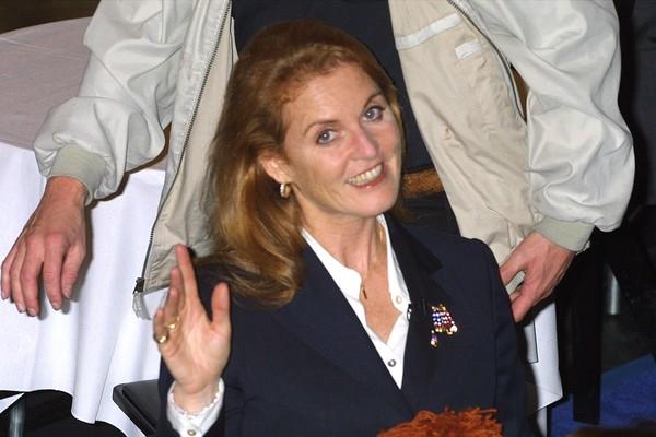 Sarah Fergunson em 2001 (Foto: Getty Images)