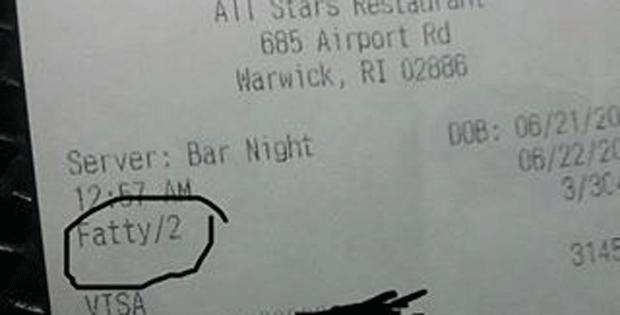 Dono de restaurante demite o próprio filho que chamou cliente de 'gordinho' (Foto: Dillon SdOutboard Arnold/Facebook)