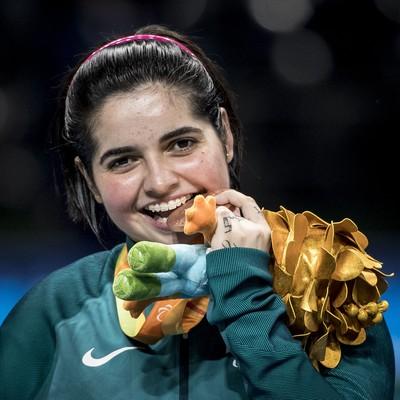 Bruna Alexandre tenis de mesa bronze (Foto: Daniel Zappe/MPIX/CPB)
