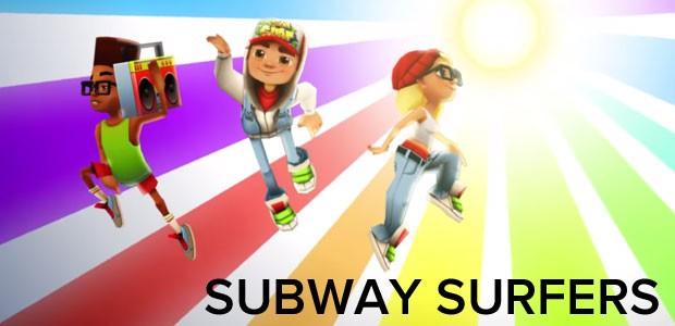 'Subway Surfer' é o segundo game para celular mais baixado no Brasil em 2014, segundo o Google. (Foto: Divulgação/Kiloo)