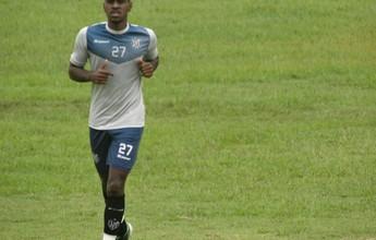 Filipe Alves sente coxa e dificilmente enfrenta o Vasco no sábado