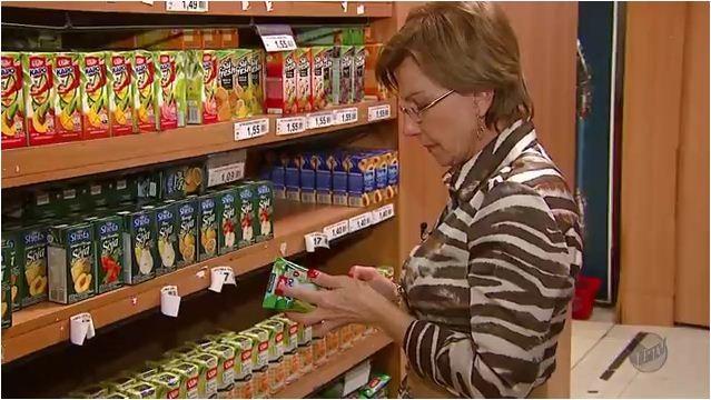 É importante ficar atento nos rótulos dos produtos  (Foto: Reprodução EPTV)