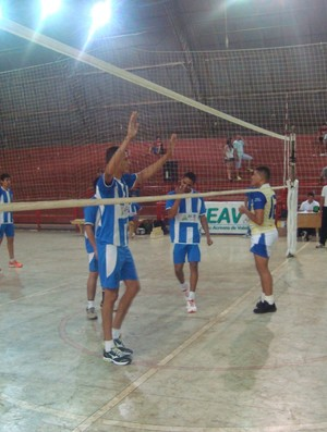 Campeonato Acreano de Vôlei Infanto-Juvenil masculino no Álvaro Dantas (Foto: Divulgação/Feav)