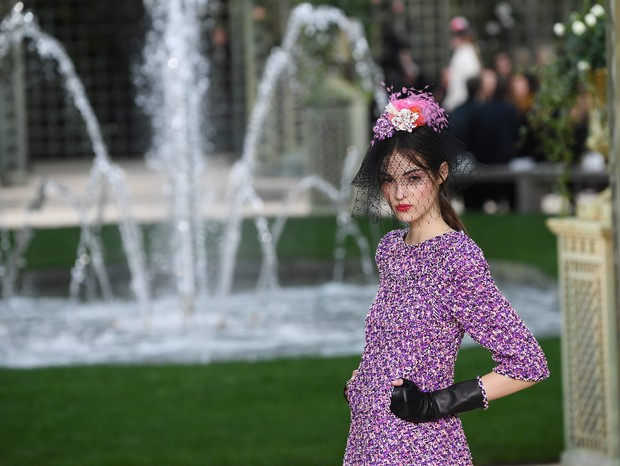 Chanel Alta Costura Primavera 2018 (Foto: Getty)
