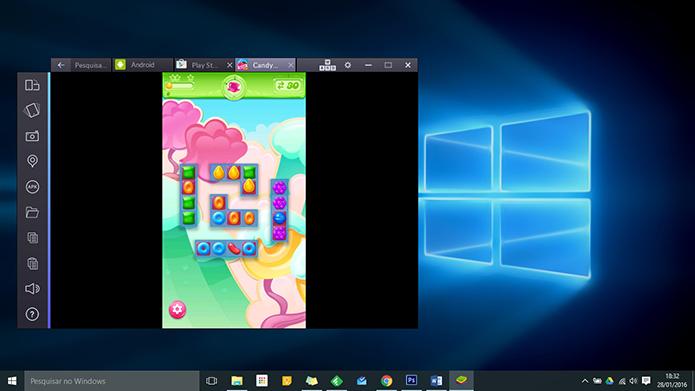 Bluestacks tem versão Windows, como a concorrência, mas também para Mac (Foto: Reprodução/Paulo Alves)