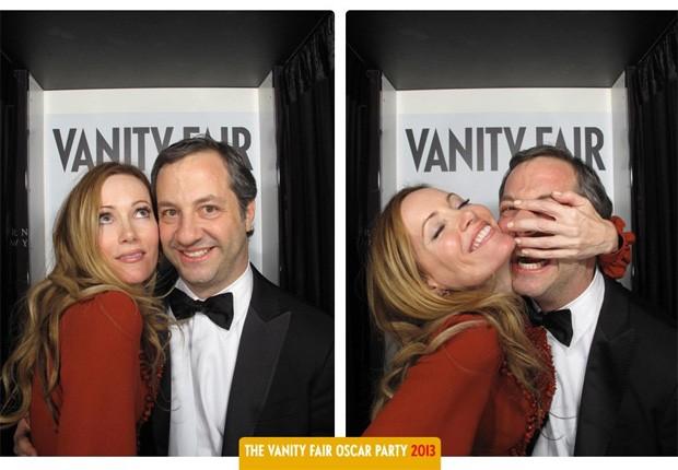 Leslie Mann e Judd Apatow (Foto: Reprodução)