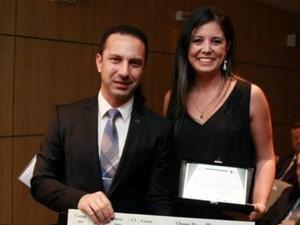Professora prêmio Patos de Minas (Foto: UFU/Divulgação)