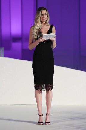 Mariana Weickert em evento de moda em Brasília (Foto: Rafael Cusato/ Brazil News)