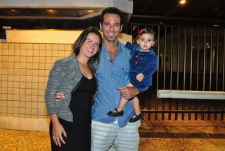 Mouhamed Harfouch e família na festa de Fernanda Pontes (Foto: Roberto Teixeira/Ego)