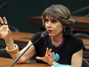 A deputada Erika Kokay (PT-DF) (Foto: Viola Jr./Câmara dos Deputados)