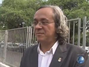 Reitor João Carlos Salles fala da volta às aulas da Ufba (Foto: Reprodução/TV Bahia)