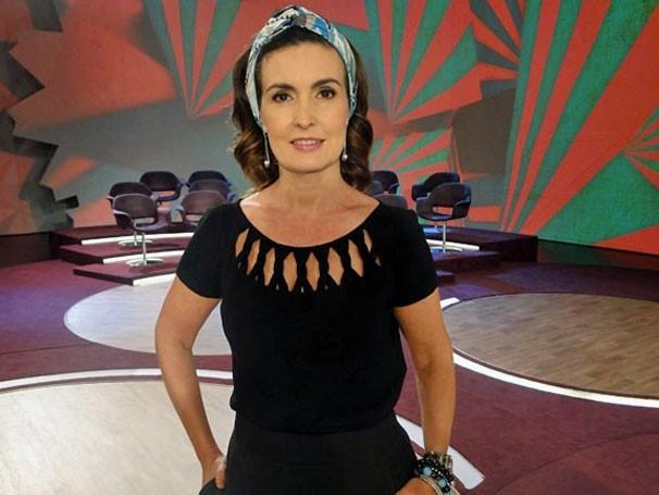 No 'Encontro', Fátimas Bernardes discute a melhor maneira de sair de uma separação (Foto: Divulgação/TV Globo)