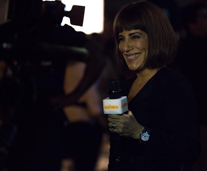 Gloria Pires grava para o Gshow (Foto: Fabiano Battaglin/Gshow)