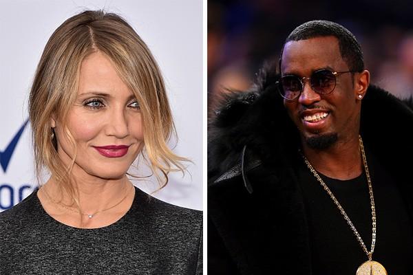 """De acordo com a revista US Weekly, fontes disseram que o rapper Sean """"Diddy"""" Combs se arrepende do término com a atriz Cameron Diaz. Apesar de poucos se lembrarem, os dois namoraram entre 2008 e 2012. (Foto: Getty Images)"""