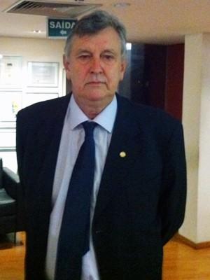 Heinze disparou contra Greenpeace e criticou postura do PP diante da polêmica (Foto: Estêvão Pires/G1)