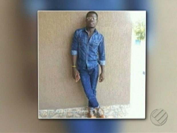 angolano Walter Etna Durval morto em Abel Figueiredo (Foto: Reprodução/TV Liberal)