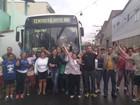 Moradores protestam contra redução no horário de ônibus em Barra Mansa