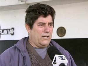 Cesar Donizetti Vieira prestou depoimento à polícia (Foto: Reprodução/TV Tribuna)