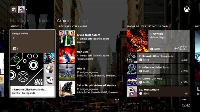 Xbox Live: como comparar jogos e conquistas com outros usuários (Foto: reprodução/Murilo Molina)