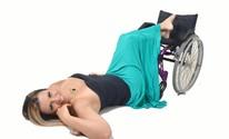 'Agora me olho sem preconceito', diz paraplégica após ensaio fotográfico  (Jouvani Reis )
