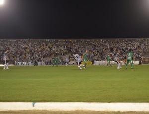 Botafogo-PB x Sousa, Estádio Almeidão (Foto: Hévilla Wanderley / GloboEsporte.com/pb)