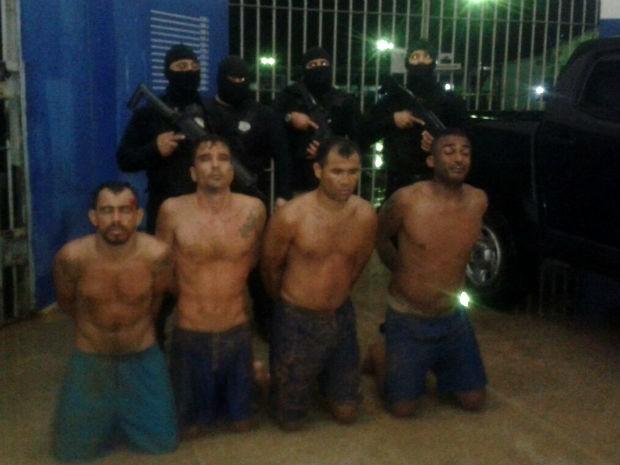 Agentes evitaram fuga em Alcaçuz na madrugada deste domningo (5) (Foto: Divulgação/Coape)
