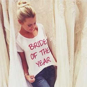 """Ana em foto postada no Instagram: """"A noiva do ano"""" (Foto: Reprodução/Instagram)"""
