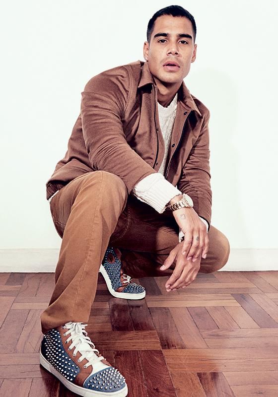 """Revelado no filme """"Cidade de Deus"""", de 2003, Micael Borges deixou de lado a carreira de ator há três anos para se dedicar à música, sua grande paixão (Foto: Camila Marchon/ÉPOCA)"""
