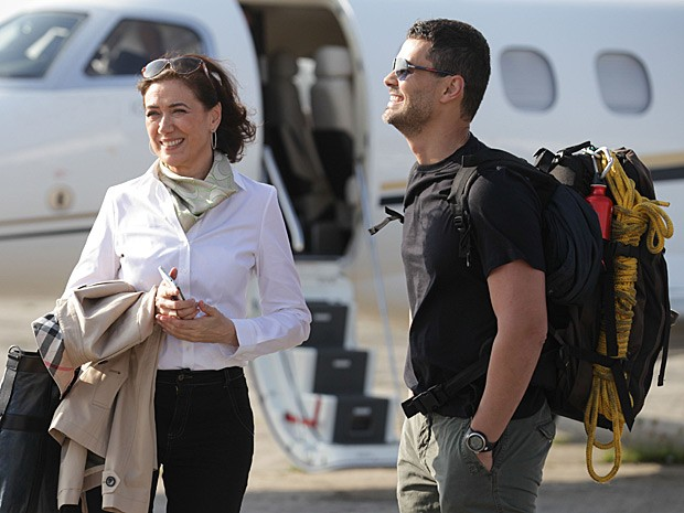 Maria Marta e Maurílio irão se envolver em 'Império' (Foto: Pedro Curi/TV Globo)