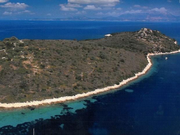 Ilha de Gaia, à venda por US$ 3,3 milhões (Foto: Reprodução/Private Islands Online)