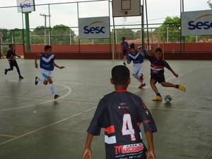 Copa Sesc de Futsal em Araguaína (Foto: Divulgação/ Ascom Sesc TO)
