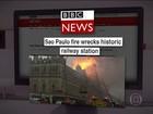 Veja a repercussão do incêndio no museu na imprensa internacional
