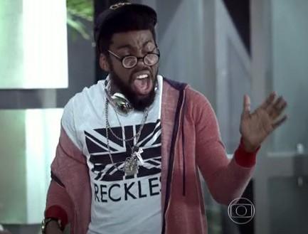 E nada de vergonha, tem que mandar a letra na frente de geral! (Foto: Geração Brasil / TV Globo)