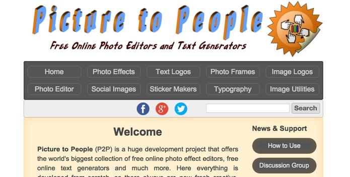Picture to People transforma as suas fotos em desenhos (Foto: Reprodução/TechTudo)