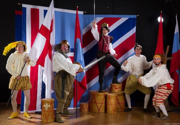 Cia Vagalum Tum Tum adaptar clássicos de Shakespeare para o teatro infantojuvenil (Foto: João Caldas)
