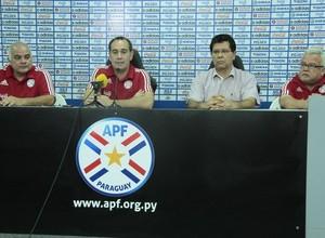 Anpuncio foi feito durante coletiva de imprensa no Paraguai (Foto   Divulgação CBFS) cfae12fd2f9ae