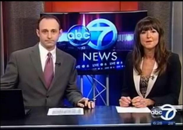 Cindy Michaels e Tony Consiglio pediram demissão durante programa ao vivo. (Foto: Reprodução)