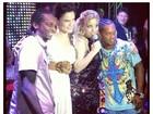 Ronaldinho Gaúcho sobe no palco com Gilmelândia: 'Foi uma farra'