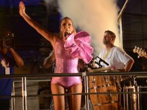 Ivete Sangalo em Ondina, em Salvador (Foto: Márcio Reis /Ag Haack)