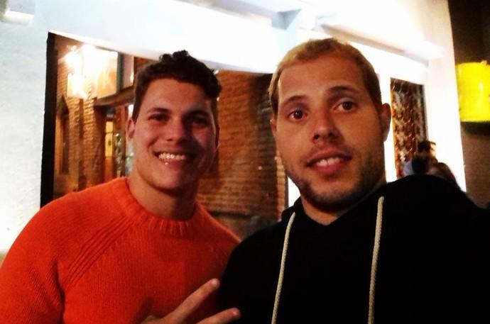 Virgilio e irmão (Foto: Reproduçãol/ Facebook)