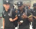 Sem Airton, mas com Sassá, Botafogo embarca para partida contra Cruzeiro
