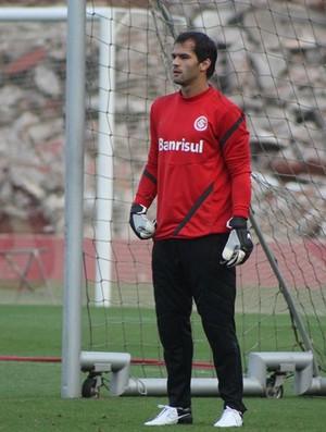 Muriel, goleiro do Inter (Foto: Diego Guichard / GLOBOESPORTE.COM)