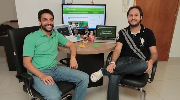 Roberto Viana e Pablo Sales, da Replay4Me (Foto: Divulgação)
