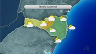 Quarta (29) tem predomínio de nuvens e umidade em regiões de SC